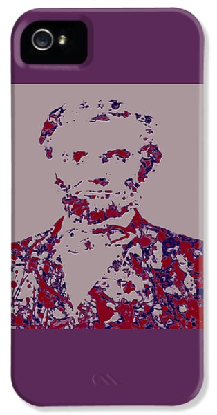 Abraham Lincoln 4c IPhone 5 / 5s Case by Brian Reaves