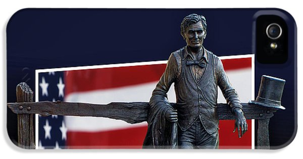 Abraham Lincoln IPhone 5 / 5s Case by Thomas Woolworth