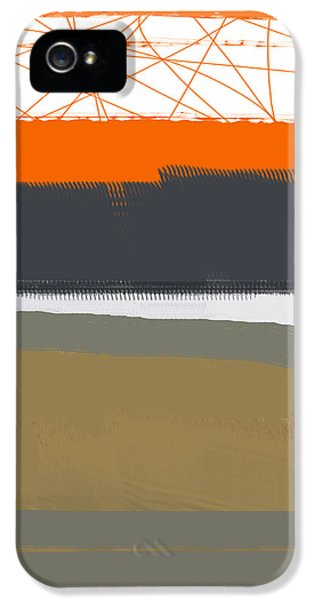 Abstract Orange 1 IPhone 5 / 5s Case by Naxart Studio