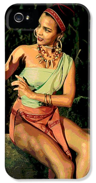 Actress Dorothy Fandridge IPhone 5 / 5s Case by Charles Shoup