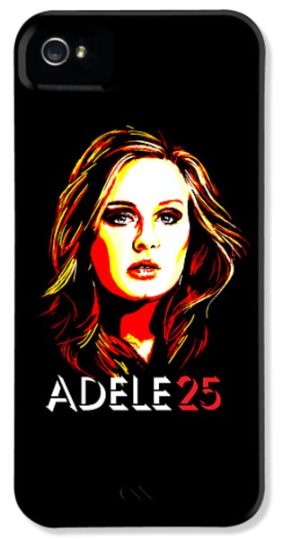Adele 25-1 IPhone 5 / 5s Case by Tim Gilliland