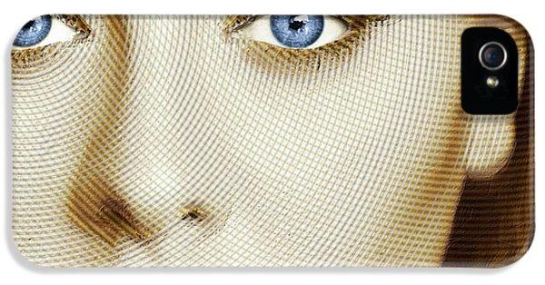 Adele Painting Circle Pattern 1 IPhone 5 / 5s Case by Tony Rubino