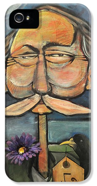 Face iPhone 5 Cases - Admiral Bird iPhone 5 Case by Tim Nyberg