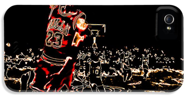 Pippen iPhone 5 Cases - Air Jordan Thermal iPhone 5 Case by Brian Reaves