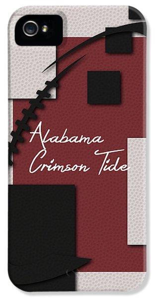 Crimson Tide iPhone 5 Cases - Alabama Crimson Tide Art iPhone 5 Case by Joe Hamilton