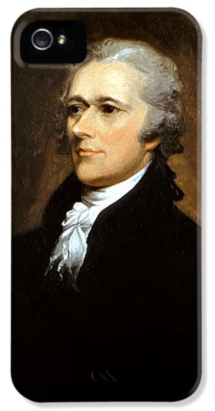 Declaration iPhone 5 Cases - Alexander Hamilton iPhone 5 Case by War Is Hell Store