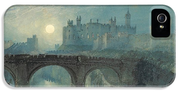 Alnwick Castle IPhone 5 / 5s Case by Joseph Mallord William Turner