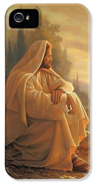 Jesus Christ iPhone 5 Cases - Alpha and Omega iPhone 5 Case by Greg Olsen