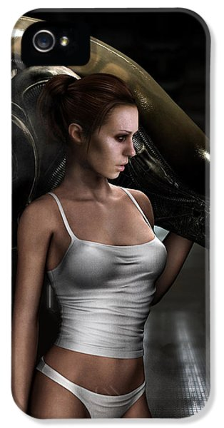Amanda Ripley IPhone 5 / 5s Case by Pharaoh Laboa