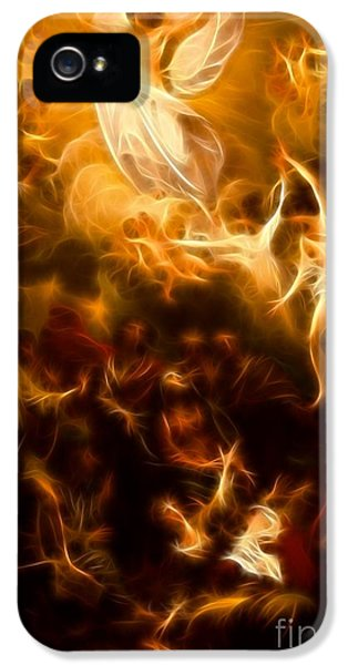 Happy Jesus iPhone 5 Cases - Amazing Jesus Resurrection iPhone 5 Case by Pamela Johnson