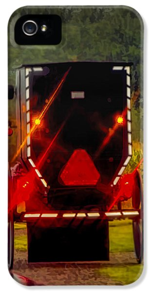 United_states iPhone 5 Cases - Amish Buggy in Rain  iPhone 5 Case by LeeAnn McLaneGoetz McLaneGoetzStudioLLCcom