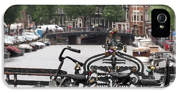 Amsterdam IPhone 5 / 5s Case by Rona Black