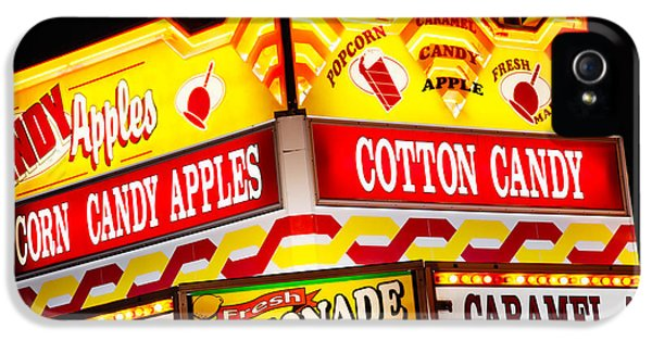 Amusement Park Concession Stand Food Sign IPhone 5 / 5s Case by Paul Velgos