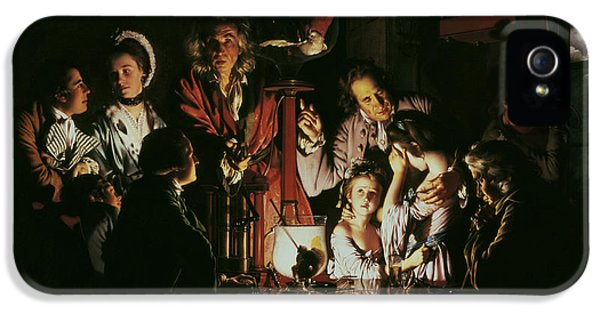 An Experiment On A Bird In The Air Pump IPhone 5 / 5s Case by Joseph Wright of Derby