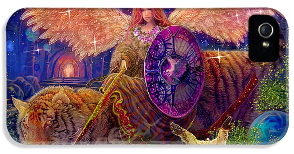Angel Tarot Card Angel Fairy Dream IPhone 5 / 5s Case by Steve Roberts