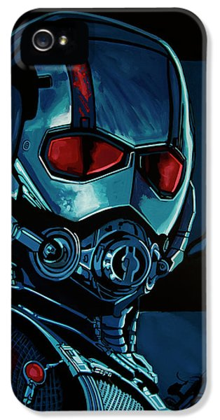 Ant Man Painting IPhone 5 / 5s Case by Paul Meijering