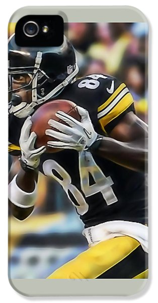 Antonio Brown Collection IPhone 5 / 5s Case by Marvin Blaine