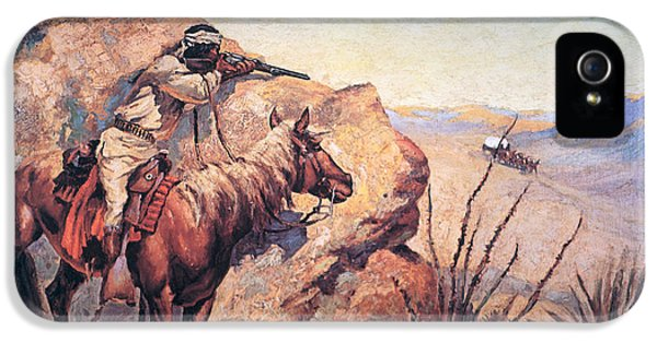 Apache Ambush IPhone 5 / 5s Case by Frederic Remington