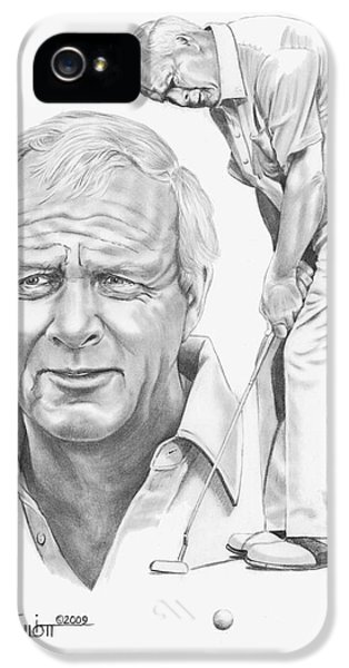 Arnold Palmer IPhone 5 / 5s Case by Murphy Elliott