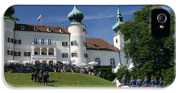 IPhone 5 / 5s Case featuring the photograph Artstetten Castle In June by Travel Pics
