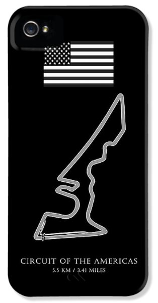 Circuits iPhone 5 Cases - Circuit of the Americas iPhone 5 Case by Mark Rogan