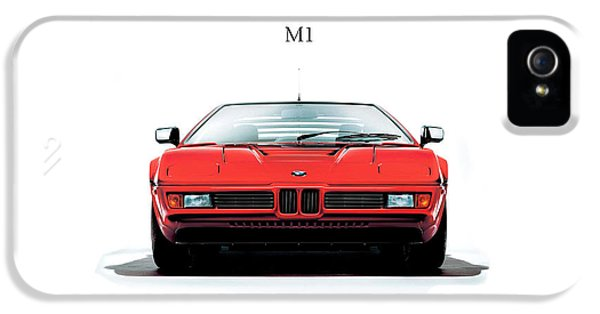 Bmw iPhone 5 Cases - Bmw M1 1979 iPhone 5 Case by Mark Rogan