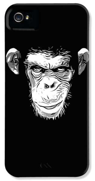 Evil Monkey IPhone 5 / 5s Case by Nicklas Gustafsson