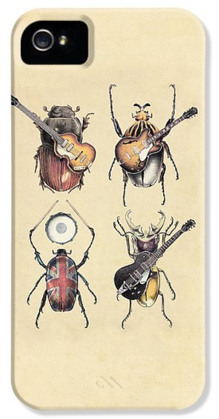 Meet The Beetles IPhone 5 / 5s Case by Eric Fan
