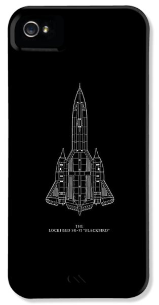 The Lockheed Sr-71 Blackbird IPhone 5 / 5s Case by Mark Rogan