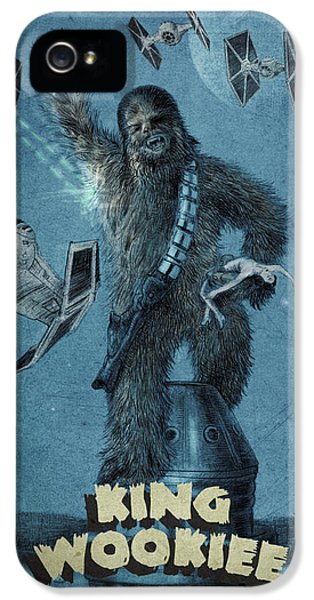 King Wookiee IPhone 5 / 5s Case by Eric Fan