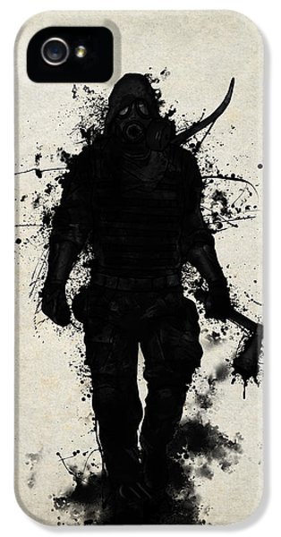 Apocalypse Hunter IPhone 5 / 5s Case by Nicklas Gustafsson