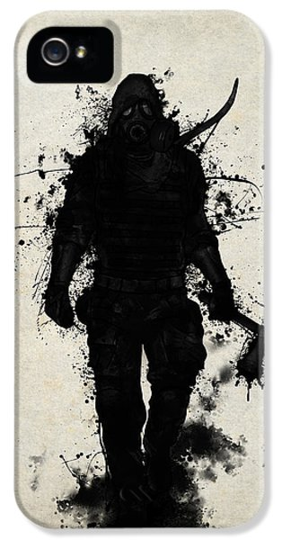 Sketch iPhone 5 Cases - Apocalypse Hunter iPhone 5 Case by Nicklas Gustafsson