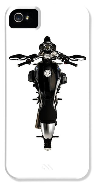 Bmw iPhone 5 Cases - BMW The Art of the Motorcycle iPhone 5 Case by Mark Rogan
