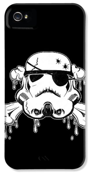Guns iPhone 5 Cases - Pirate Trooper iPhone 5 Case by Nicklas Gustafsson