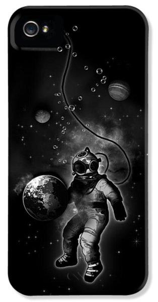 Deep Sea Space Diver IPhone 5 / 5s Case by Nicklas Gustafsson