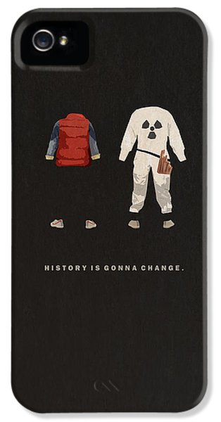 Back To The Future IPhone 5 / 5s Case by Alyn Spiller