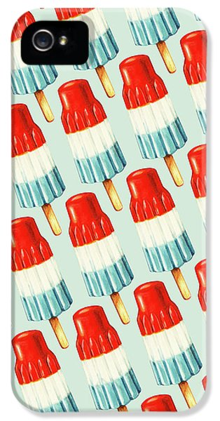 Bomb Pop Pattern IPhone 5 / 5s Case by Kelly Gilleran