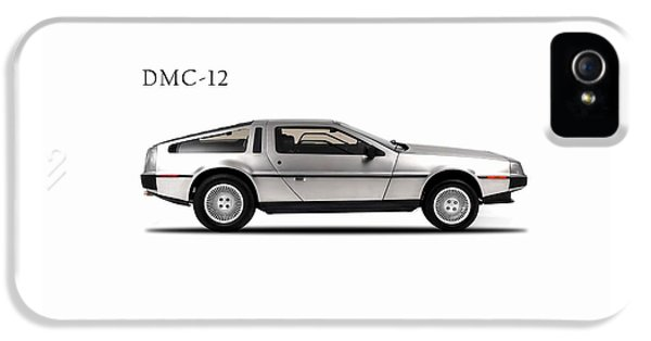 Delorean Dmc-12 IPhone 5 / 5s Case by Mark Rogan