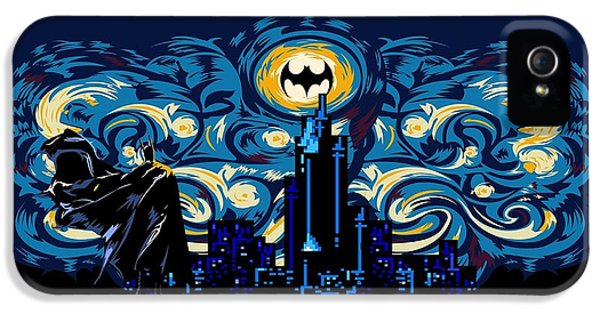 Starry Knight IPhone 5 / 5s Case by Three Second
