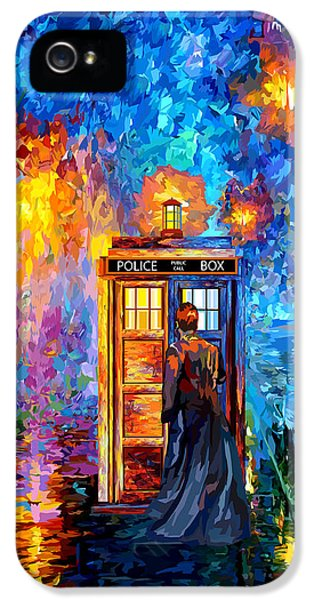 The Doctor Lost In Strange Town IPhone 5 / 5s Case by Three Second