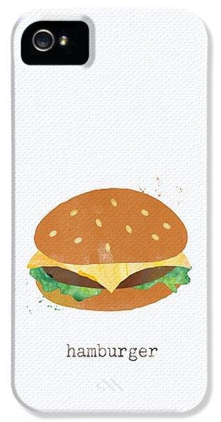 Hamburger IPhone 5 / 5s Case by Linda Woods