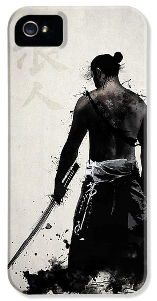Ancient iPhone 5 Cases - Ronin iPhone 5 Case by Nicklas Gustafsson