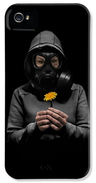 Apocalypse iPhone 5 Cases - Toxic Hope iPhone 5 Case by Nicklas Gustafsson