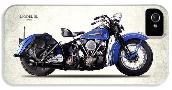 Harley-davidson El 1948 IPhone 5 / 5s Case by Mark Rogan