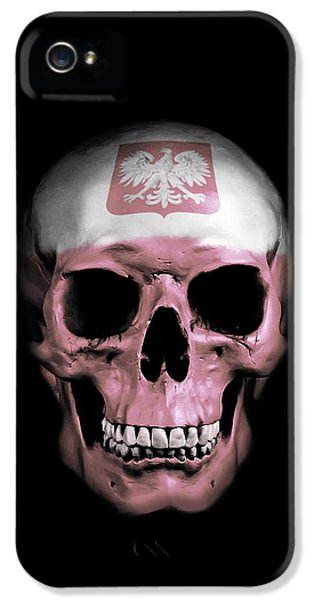 Polish Skull IPhone 5 / 5s Case by Nicklas Gustafsson