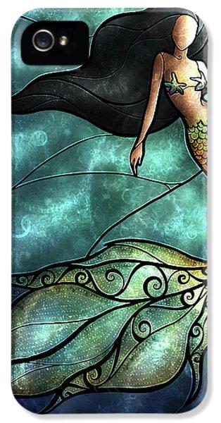 The Mermaid IPhone 5 / 5s Case by Mandie Manzano