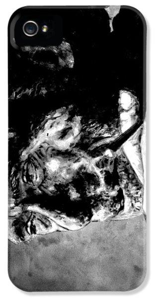 Charles Bukowski IPhone 5 / 5s Case by Richard Tito