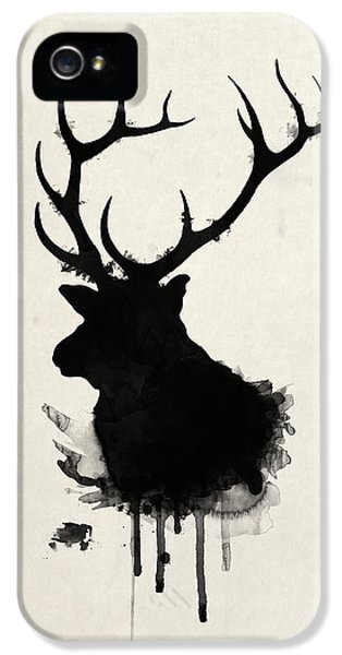 Hunting iPhone 5 Cases - Elk iPhone 5 Case by Nicklas Gustafsson