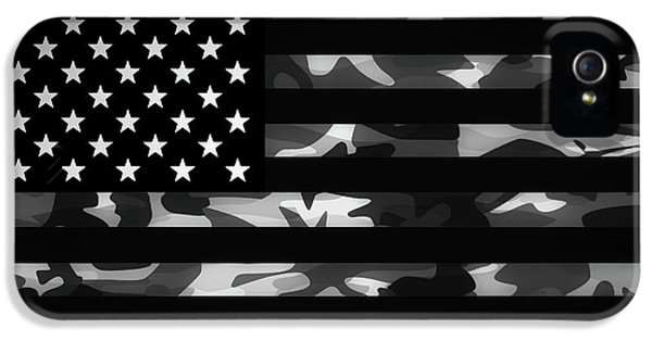 American Camouflage IPhone 5 / 5s Case by Nicklas Gustafsson