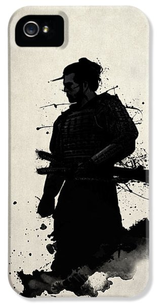Ancient iPhone 5 Cases - Samurai iPhone 5 Case by Nicklas Gustafsson
